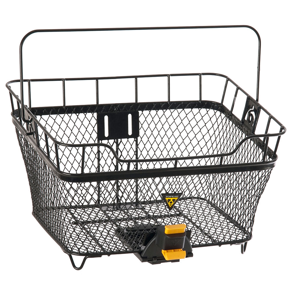 Topeak Mtx Rear Basket W-fixer 6 - Black - 23.44 Litres  Black