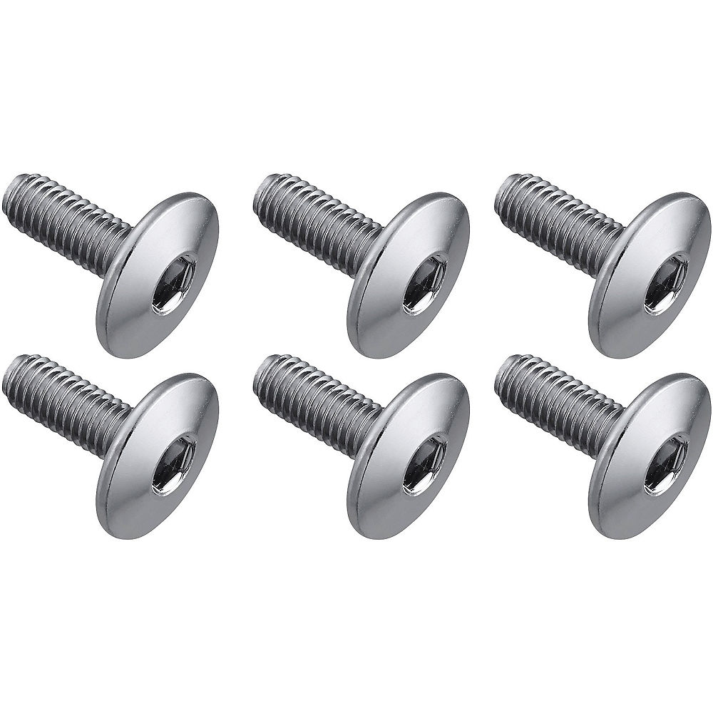 Shimano SPD-SL 13.5mm Cleat Bolts - Silver - 6 Pack, Silver