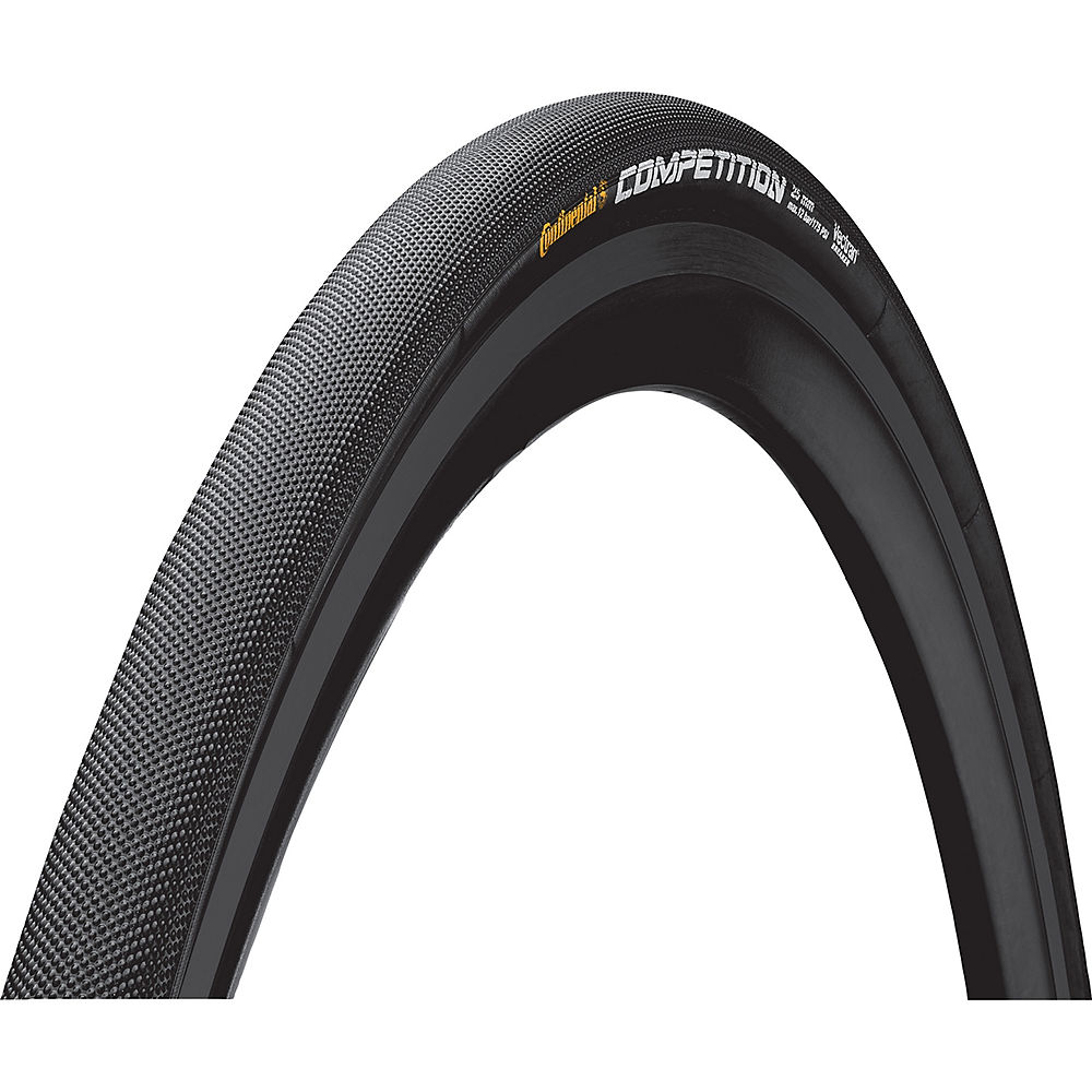 Image of Continental Competition Tubular Road Bike Tyre - Black - 700c, Black