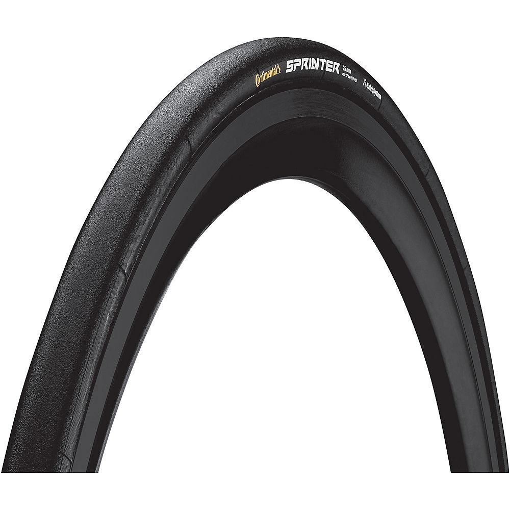 Continental Sprinter Tubular Road Bike Tyre - Black - 700c  Black
