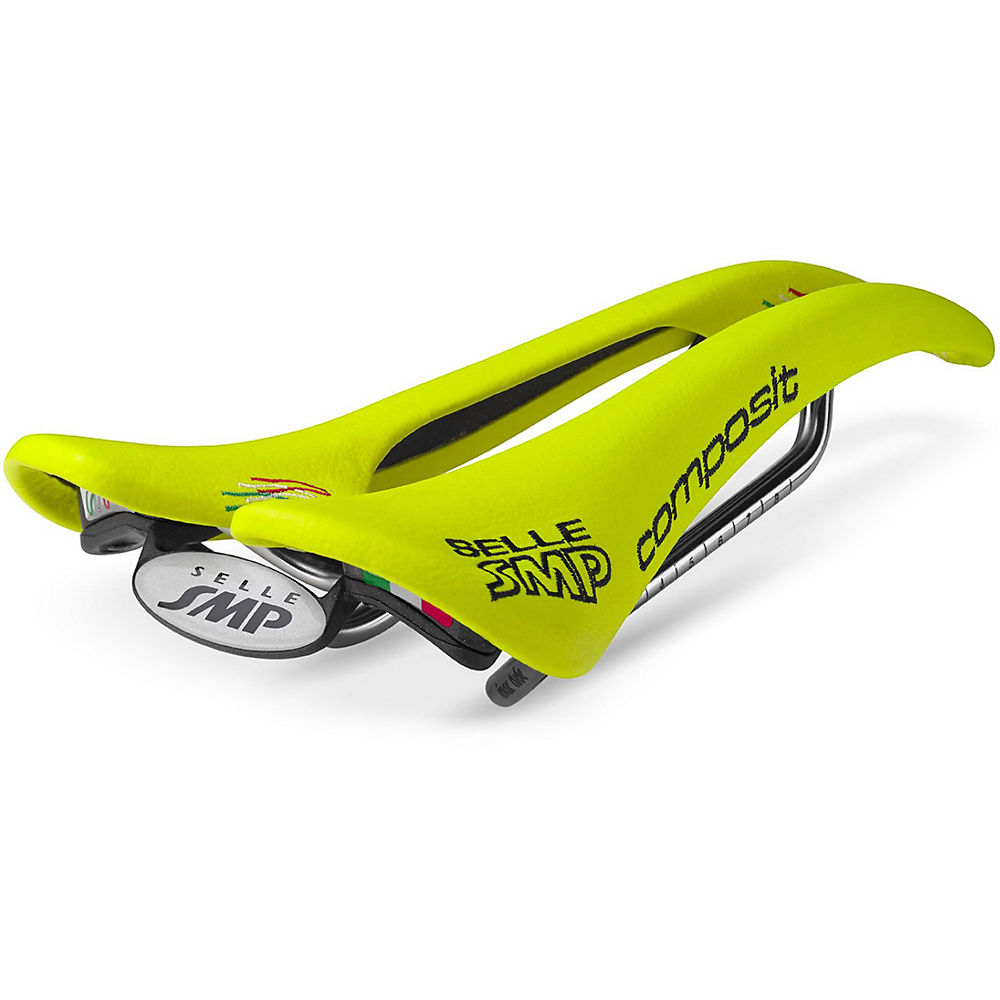 Image of Selle Selle Smp Composite - Jaune fluo