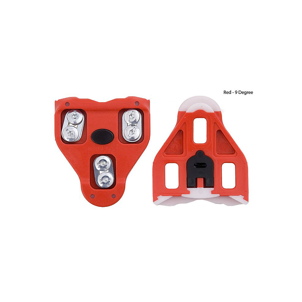 Look Delta Cleats - Red - 9 Degrees  Red