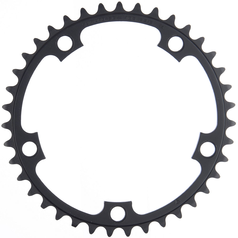 Shimano Ultegra FC6601 Double Chainrings - Grey - 130mm, Grey