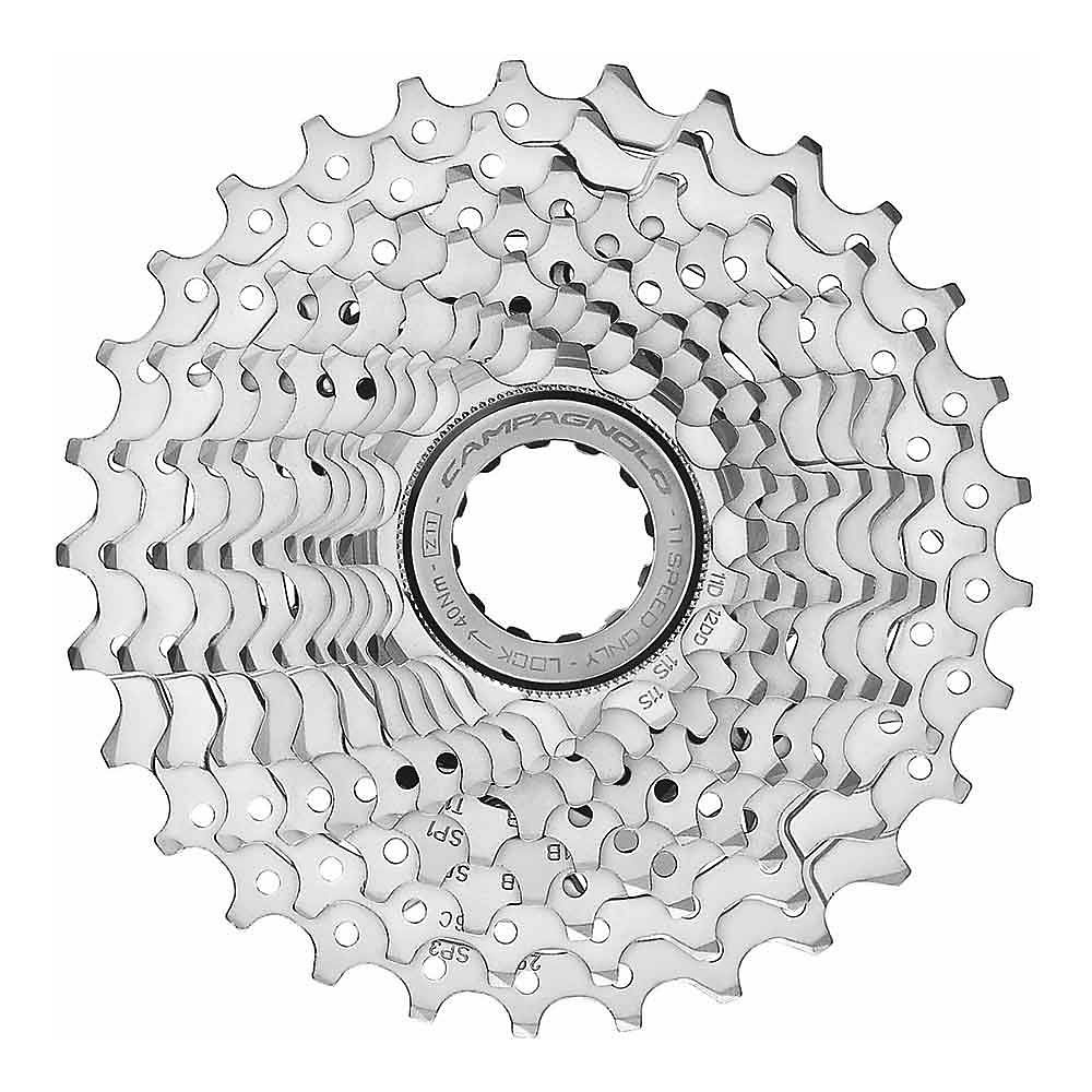 Campagnolo Chorus 11 Speed Road Cassette - Silver - 11-23t, Silver