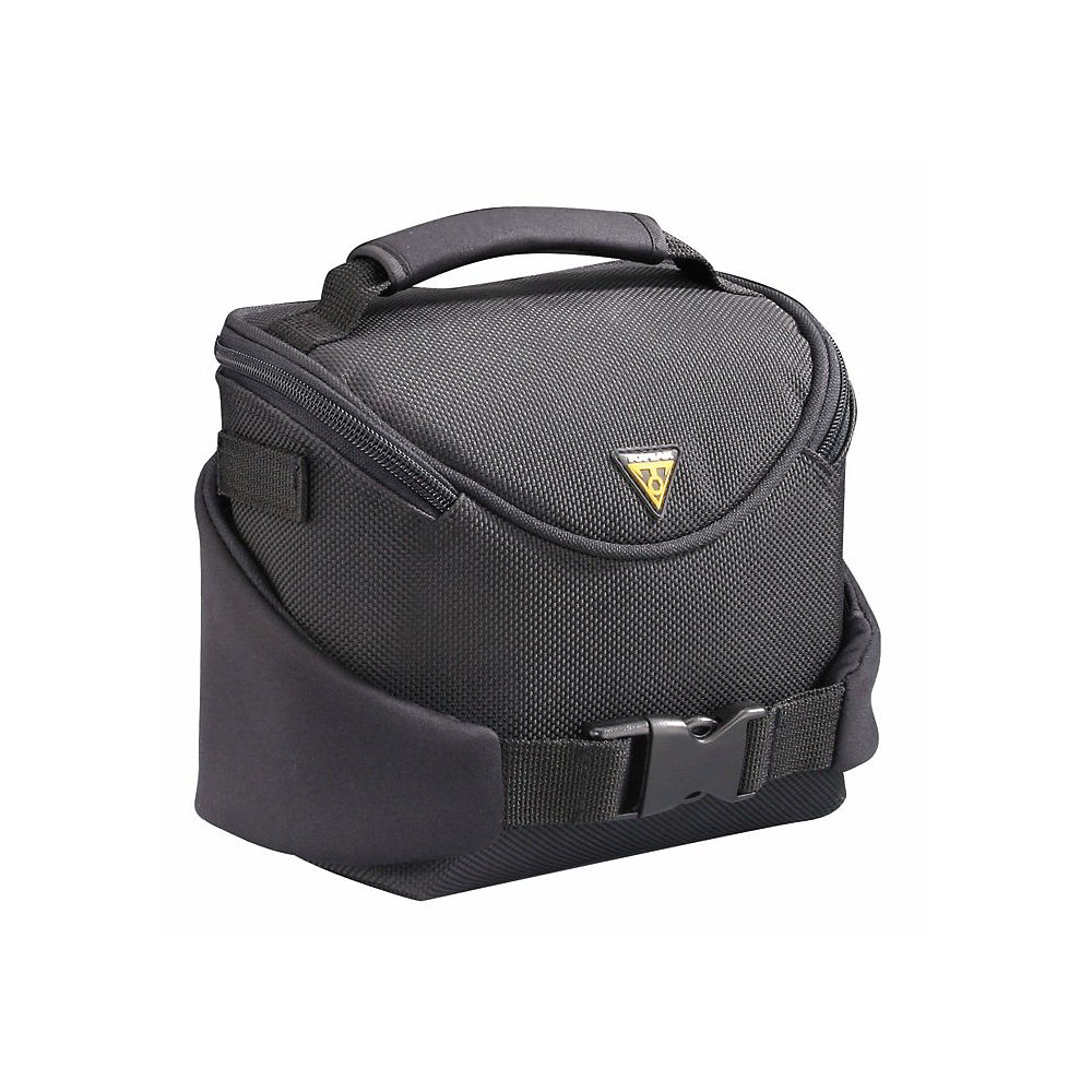 Topeak Tourguide Compact Handlebar Bag - Black - 2 Litres  Black