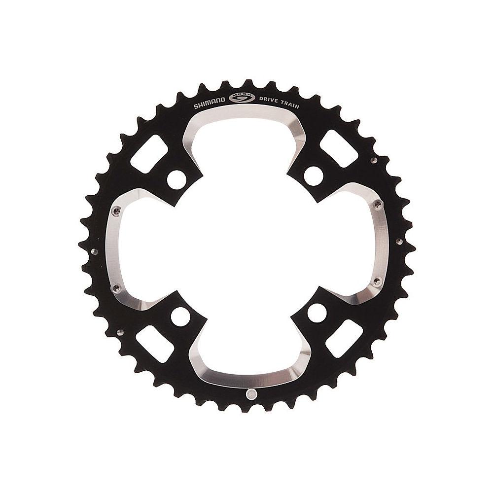 Shimano Xt Fcm770 9 Speed Triple Chainrings - Black - 4-bolt  Black