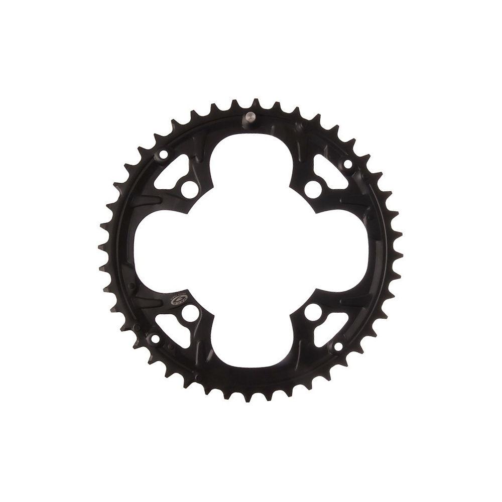 Shimano Fcm440 Chainrings - Black - 4-bolt  Black
