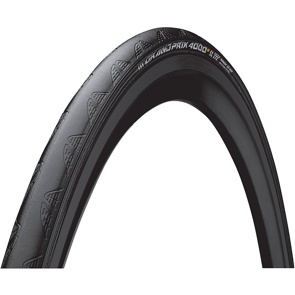 Image of Continental GP 4000S II Tubular Road Tyre | Black - 22mm