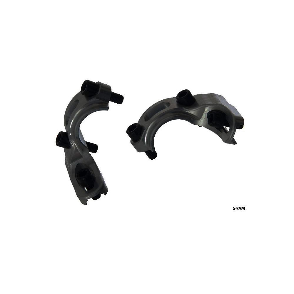 Hope Tech-Tech Evo Shifter Mount - Black - Pair - Shimano - HBSP 248, Black