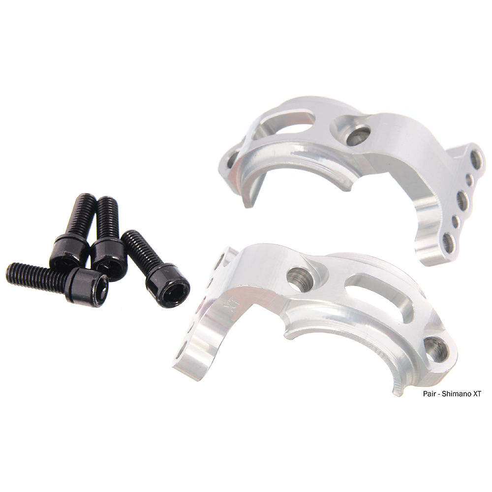 Hope Tech-Tech Evo Shifter Mount - Silver - Left or Right - Shimano - HBSP 263, Silver