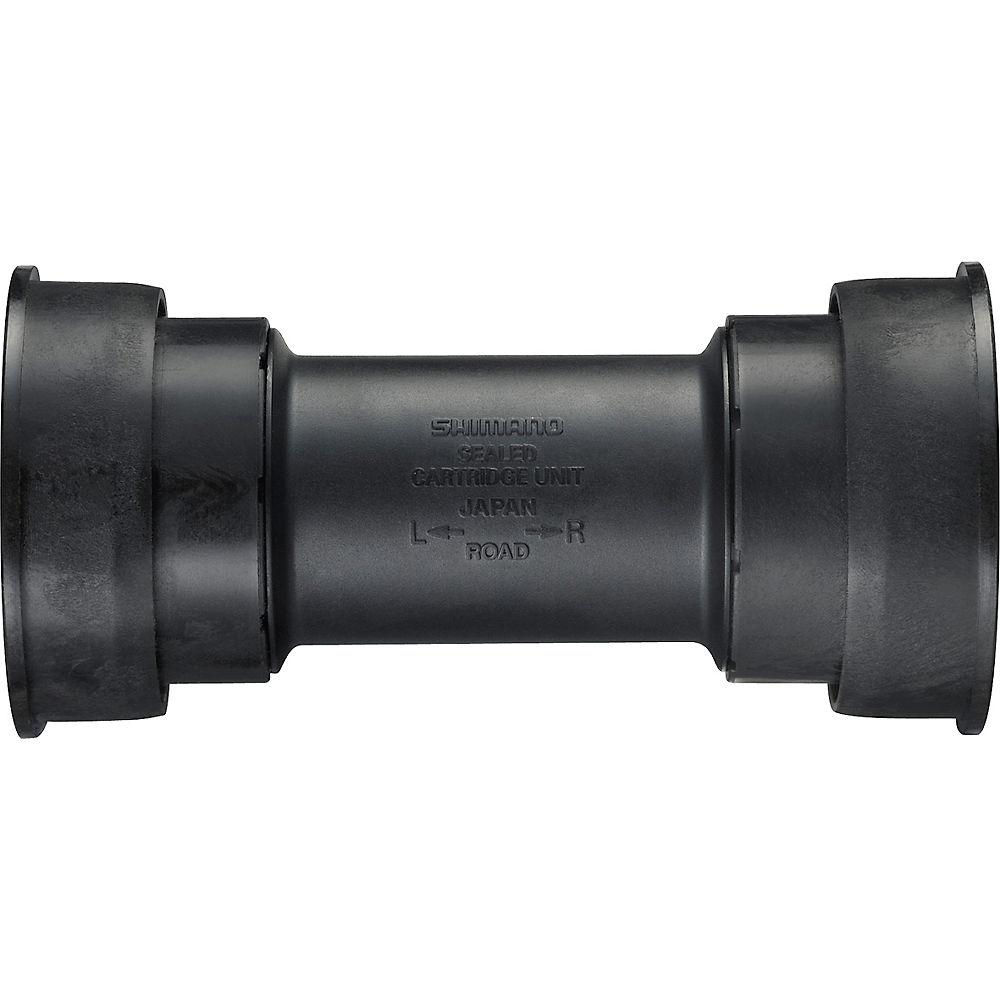 Shimano BB92 Road Press Fit Bottom Bracket - Black - 86.5mm - BB92 PF41 - 24mm Spindle, Black