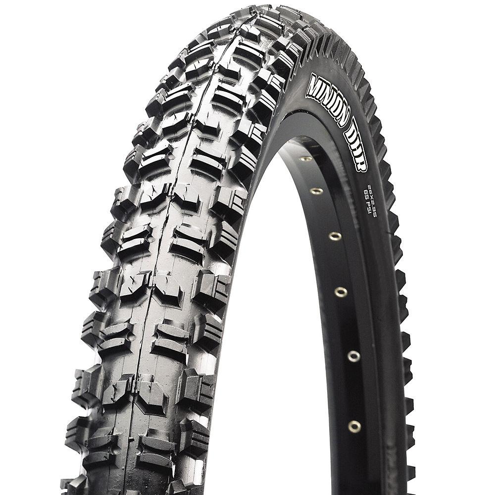 Maxxis Minion DHR MTB Tyre - Dual Ply - Black - Wire Bead, Black