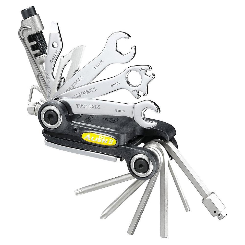 Topeak Alien Ii Multi Tool - Black - Silver - 31 Function  Black - Silver