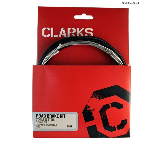 Clarks Cable Gear Kit F+R Stainless Sport Road//Mountain Green