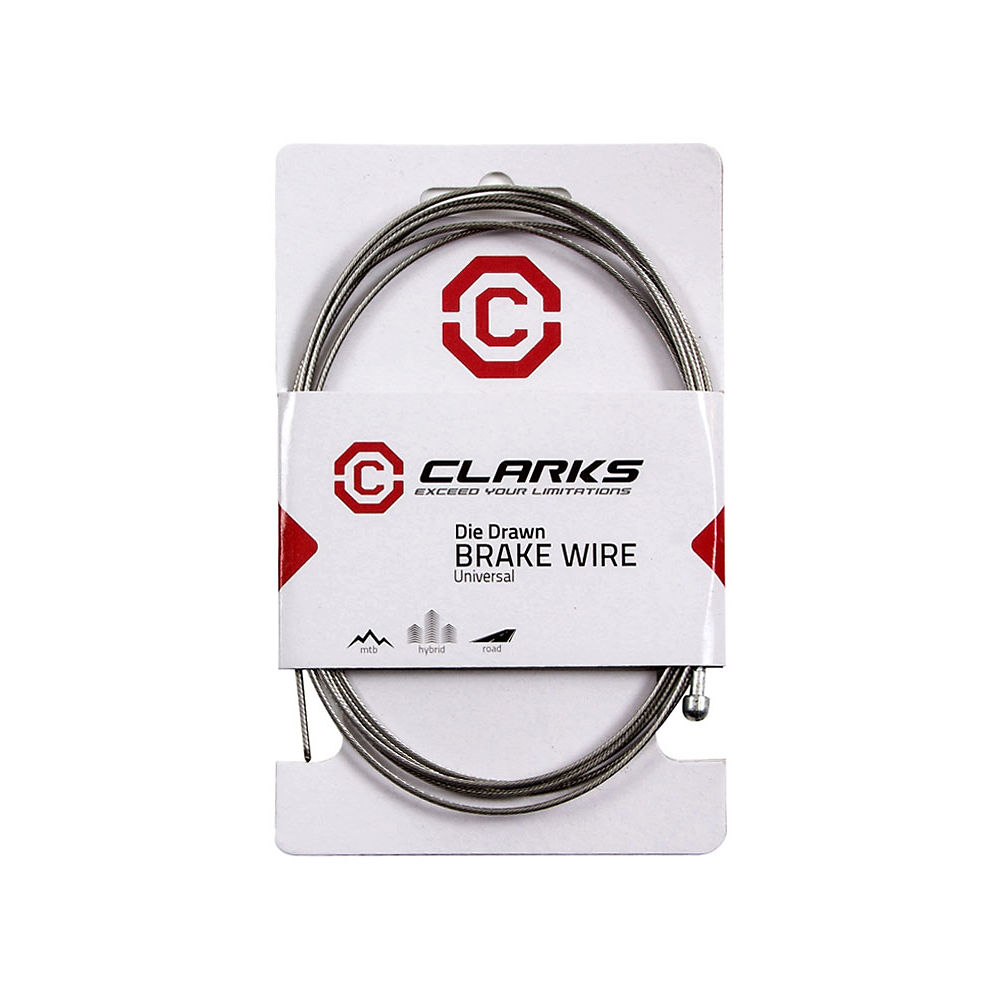 Image of Clarks Road Stainless Steel Inner Brake Cable, Stainless Steel