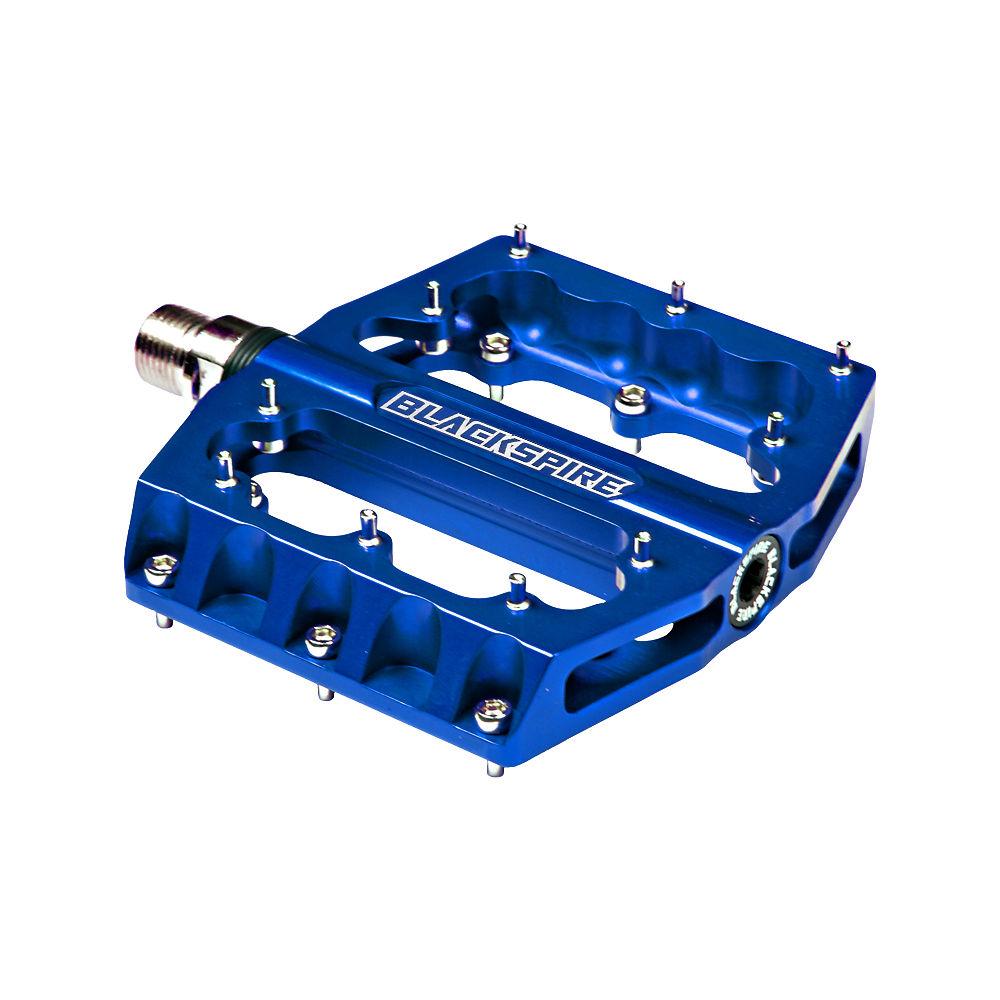 Image of Pédales Plates Blackspire Sub420 - Bleu - Cro-Mo Axle