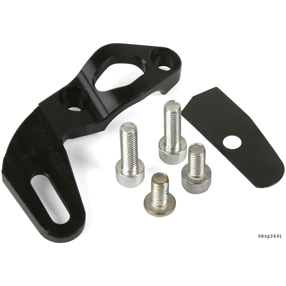 Hope Race-Race Evo Shifter Mount - Black - Pair - Shimano - HBSP 264, Black