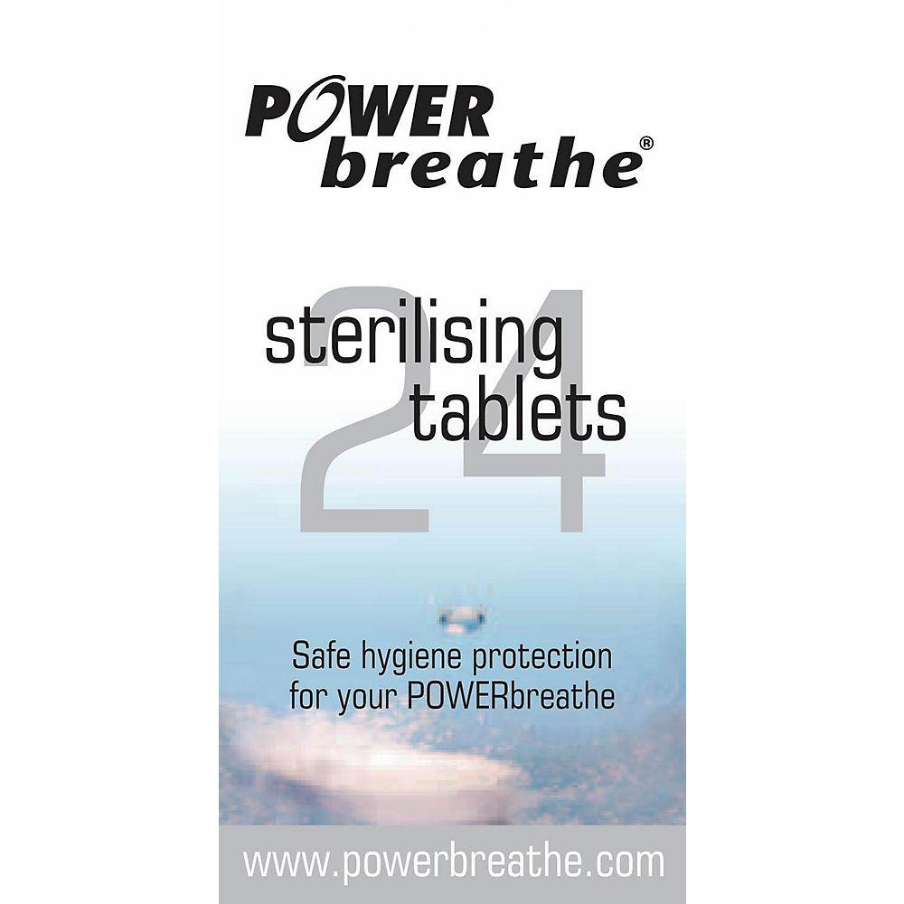 Image of 24 comprimés de stérilisation de l'entraineur respiratoire PowerBreathe, n/a
