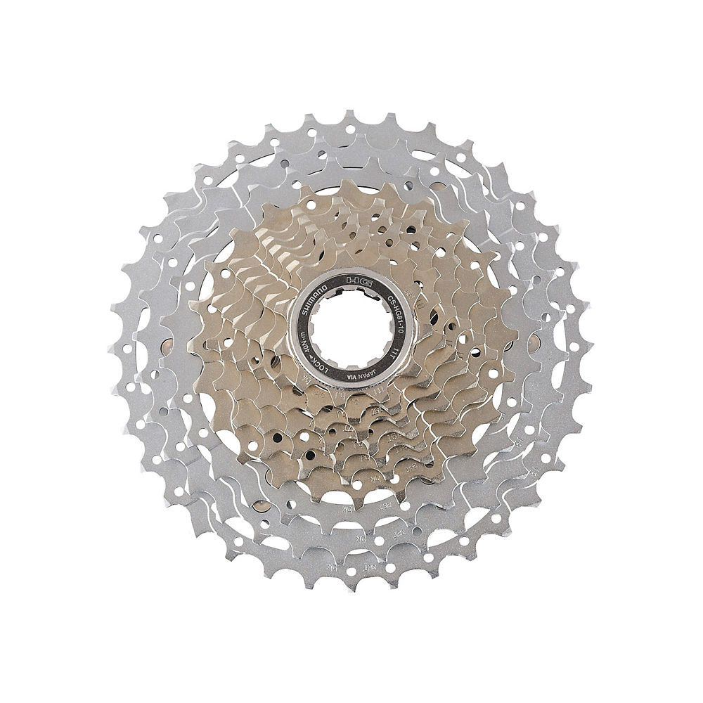 Shimano SLX HG81 MTB Cassette (10 Speed) - Silver - 11-36t, Silver