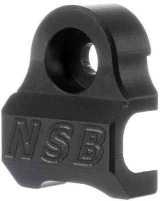 North Shore Billet Fox Cable Guide - Black, Black | Misc. Gears and Transmission
