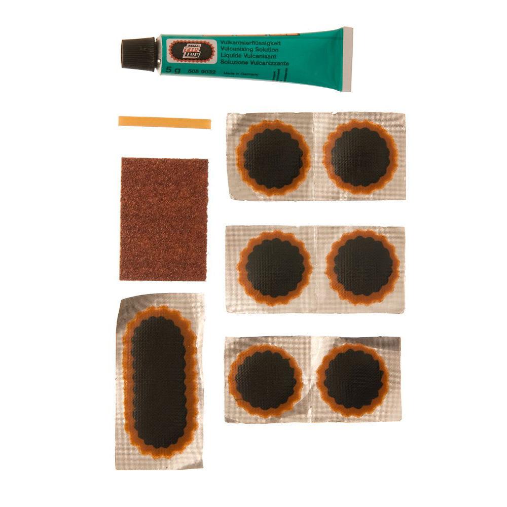 Image of Kit de réparation de crevaison Rema Tip Top TT02 - Noir - Vert