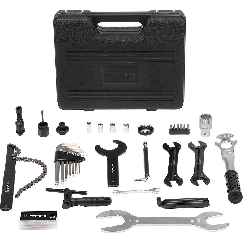 Juego de herramientas de bicicleta X-Tools (37 piezas)