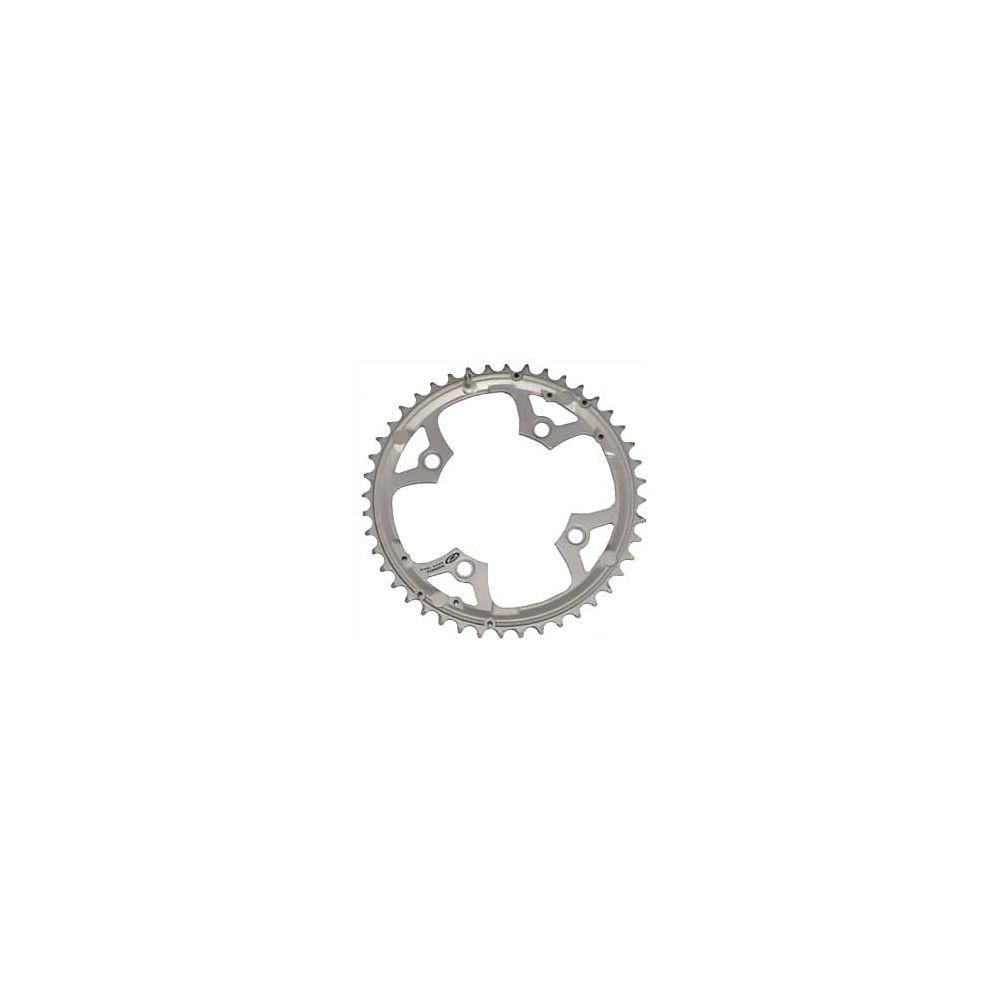 Shimano Deore Fcm510 Triple Chainrings - Silver - 4-bolt  Silver