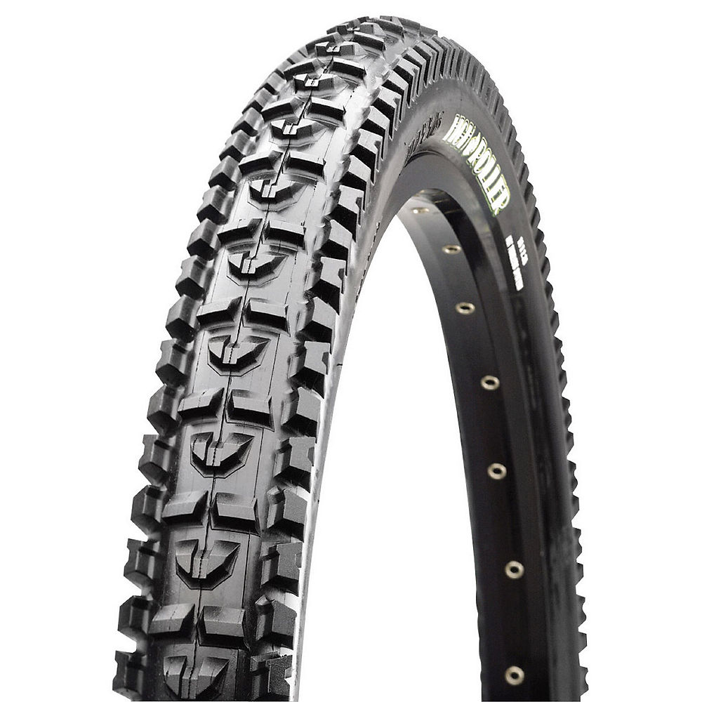Maxxis High Roller MTB Tyre - Single Ply - Black - Wire Bead, Black