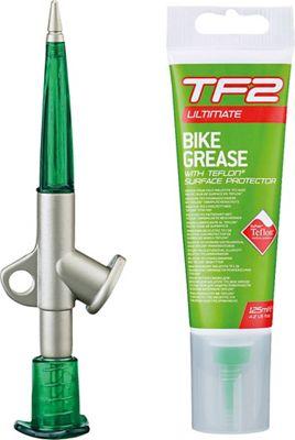 Pistola engrasadora con lubricante de teflón para bicicletas Weldtite TF2