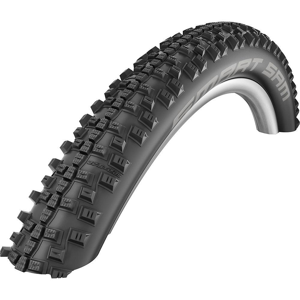 Schwalbe Smart Sam Performance Tyre - Black - Wire Bead, Black