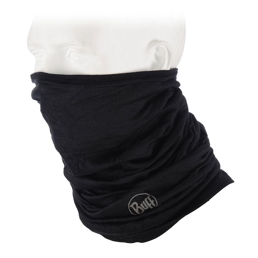 Image of Cache-nez Buff Merino en laine - Noir - One Size