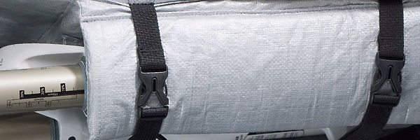 Bike Bag with Interior Fork Specific Protection