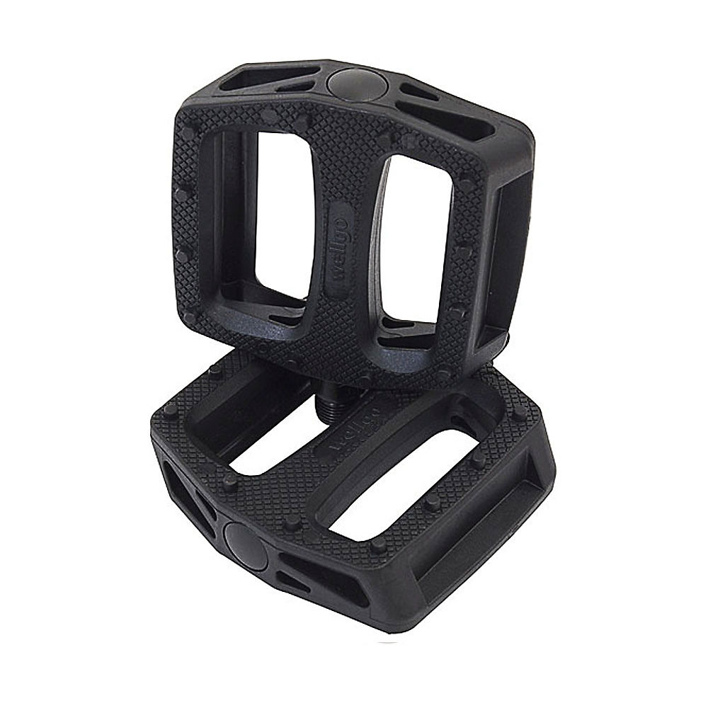 """Image of Pédales BMX Wellgo B109 Plastic - Noir - 9/16"""""""