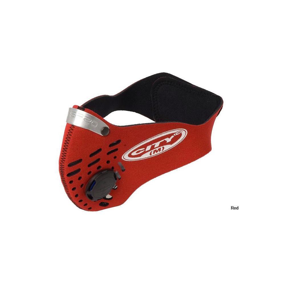 Máscara antipolución Ciudad Respro - Rojo, Rojo