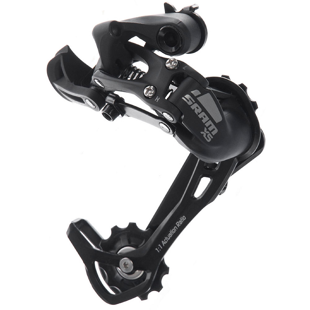 Sram X5 9 Speed Rear Derailleur - Black - Medium Cage  Black