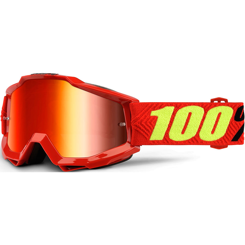 100% Accuri Goggles - Mirror - Saarinen - Mirror Red Lens, Saarinen - Mirror Red Lens