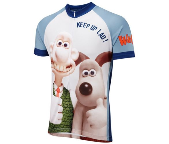 5a7f788c9 Foska Wallace   Gromit Road Cycling Jersey 2017