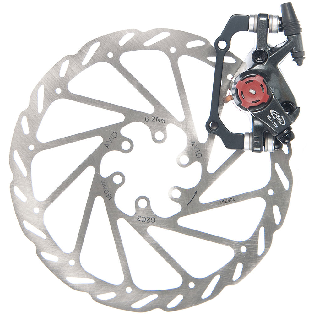 Avid Bb7 Mtb Mechanical Disc Brake - Graphite Grey - Front Or Rear  Graphite Grey