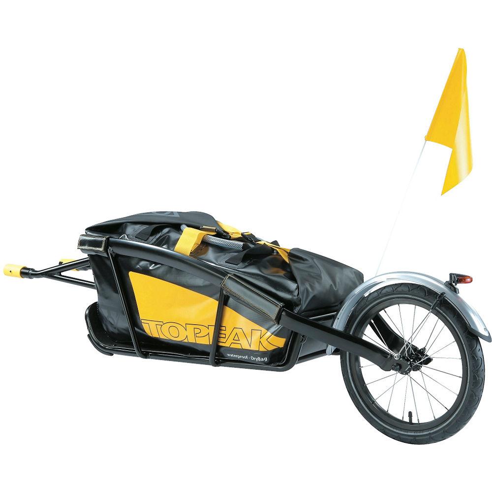 Remolque de bici Topeak Journey - Amarillo - Negro, Amarillo - Negro