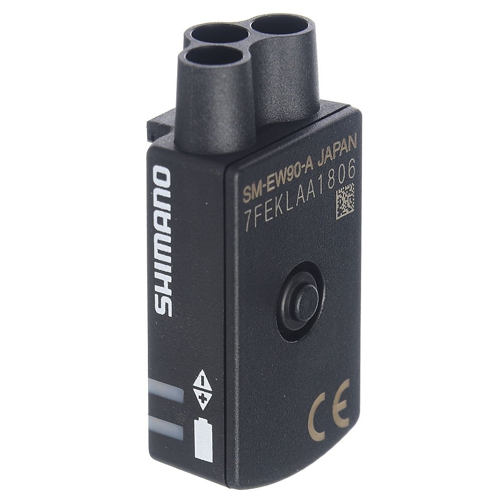 Shimano Di2 EW90 Junction-A Box - 3 Port - Black - Non-FlightDeck, Black