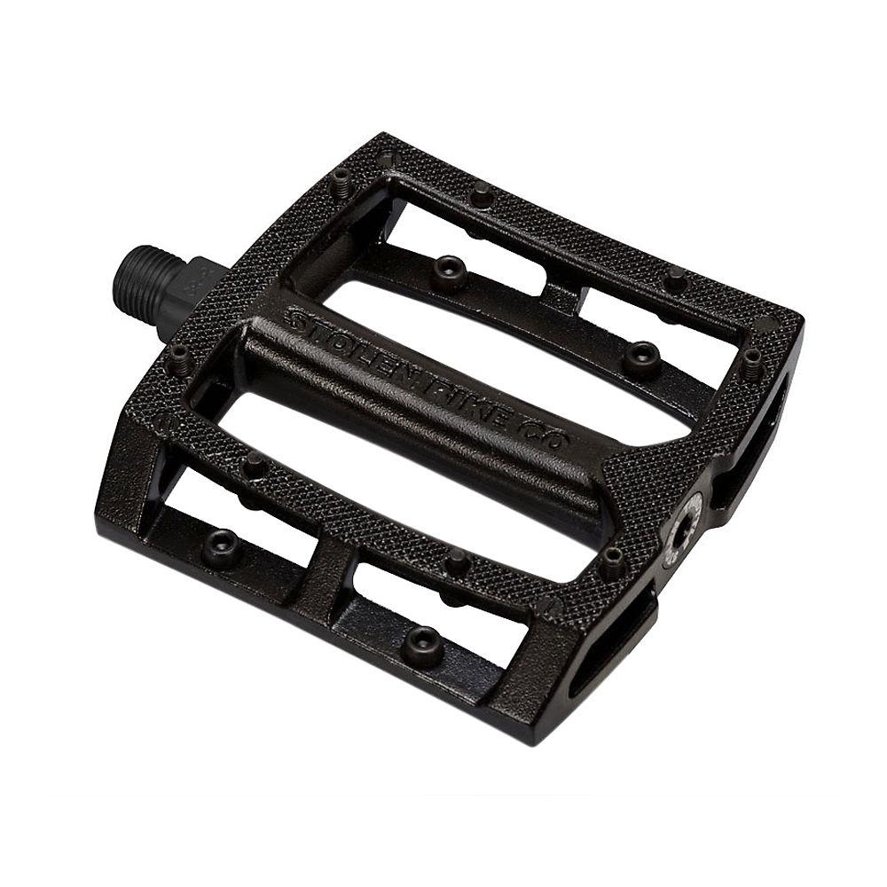 Stolen Throttle Sealed Alloy Pedals - Black - 9/16  Black