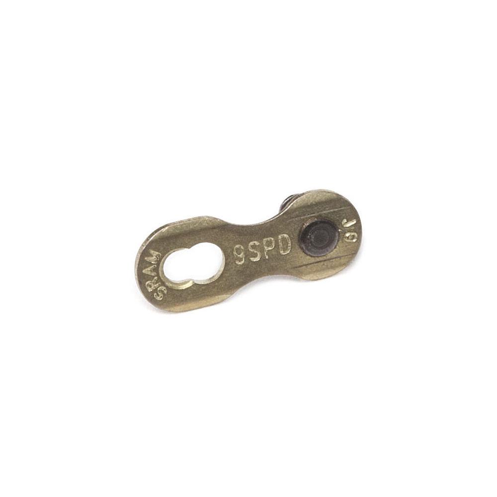 Sram Powerlock Chain Connector - Gold - 9 Speed Powerlink  Gold