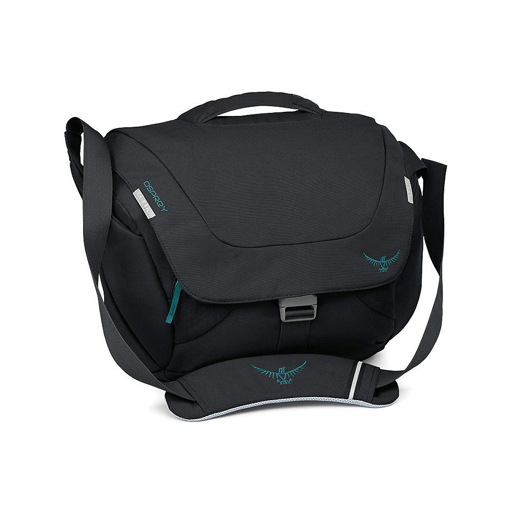 Osprey Flap Jill Courier Bag - Black - One Size  Black