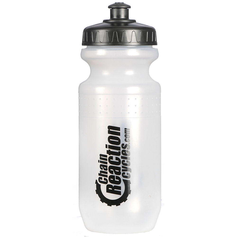 Chain Reaction Cycles Logo Water Bottle - Clear - 620ml  Clear