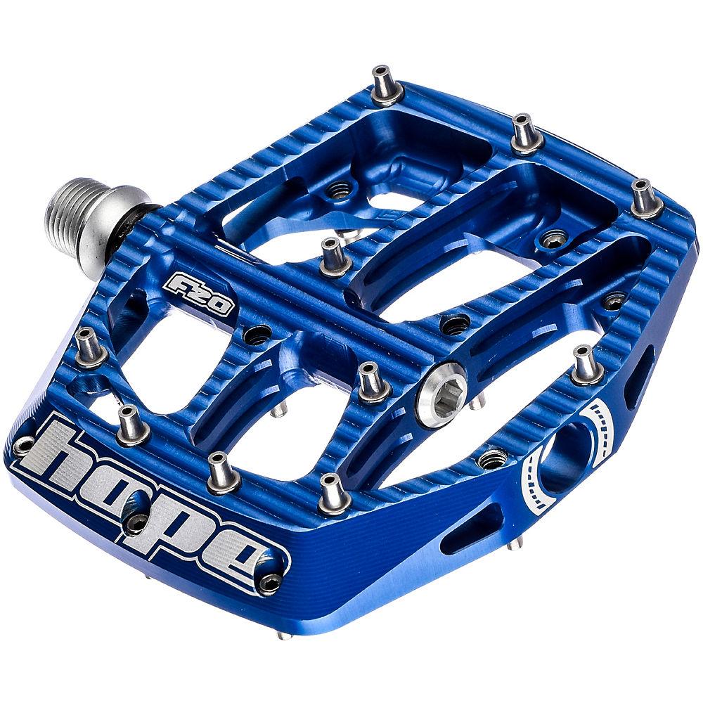 Hope F20 Flat Pedals – Blue, Blue