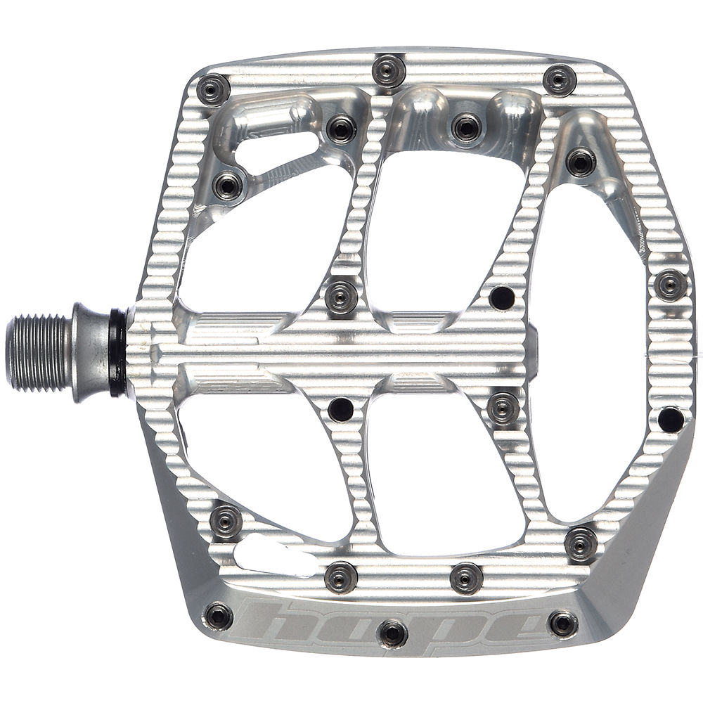 Hope F20 Flat Pedals - Silver  Silver