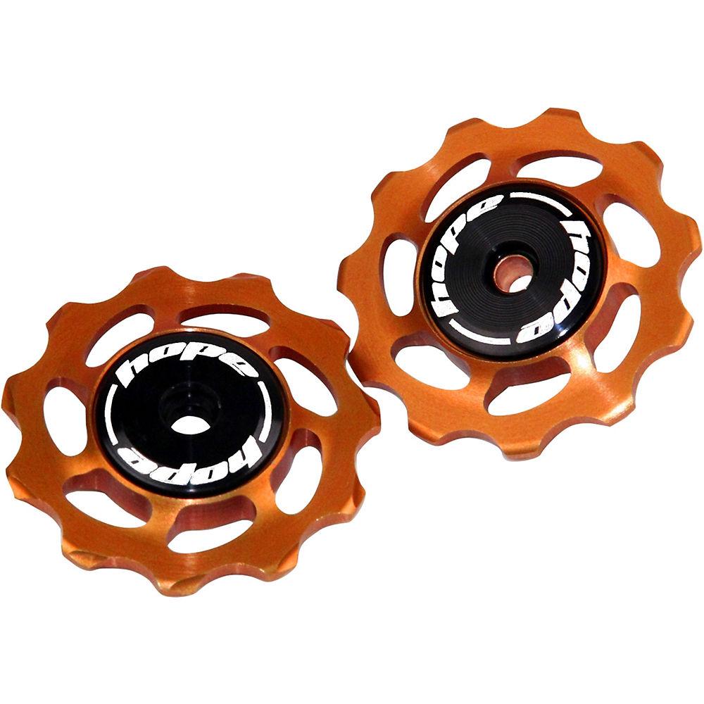 Hope Jockey Wheels - Orange - Pair  Orange