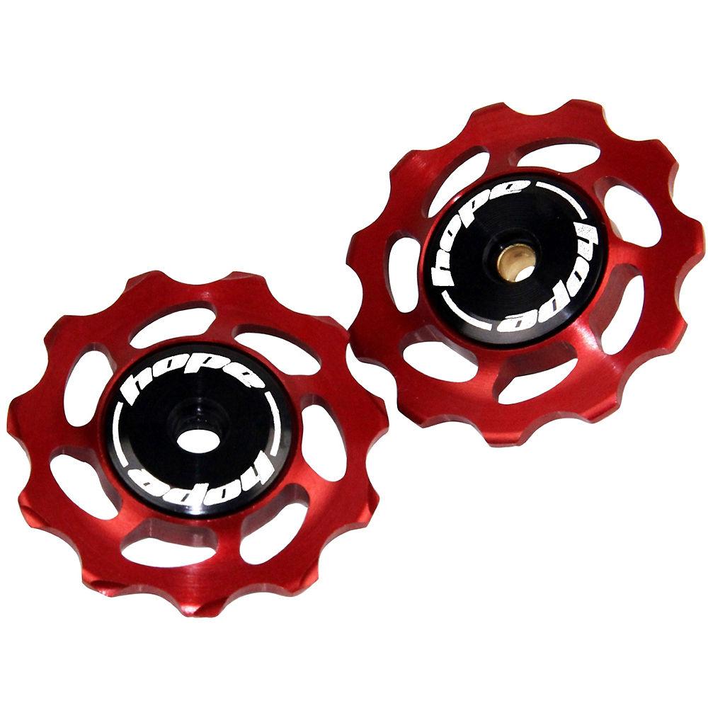 Hope Jockey Wheels - Red - Pair  Red