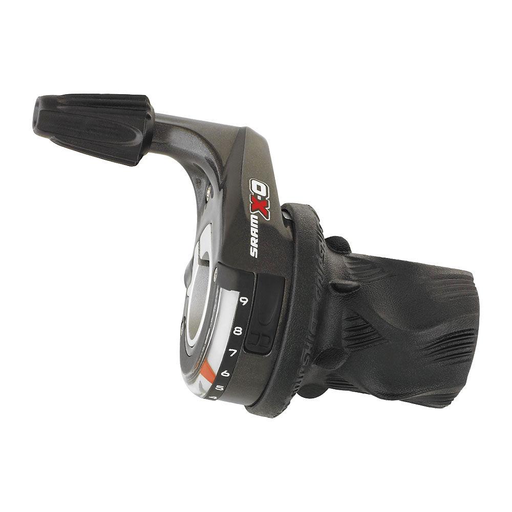 Sram X0 9 Speed Twister Shifter - Black - Right Hand Rear  Black