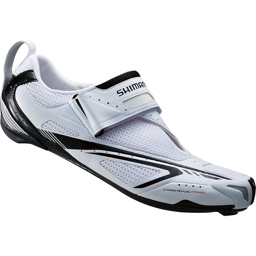 Shimano TR60 SPD-SL Tri Shoes 2016 - White - Black - EU 50, White - Black
